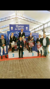 Podium du championnat Critérium des enseignants d'Ile de France