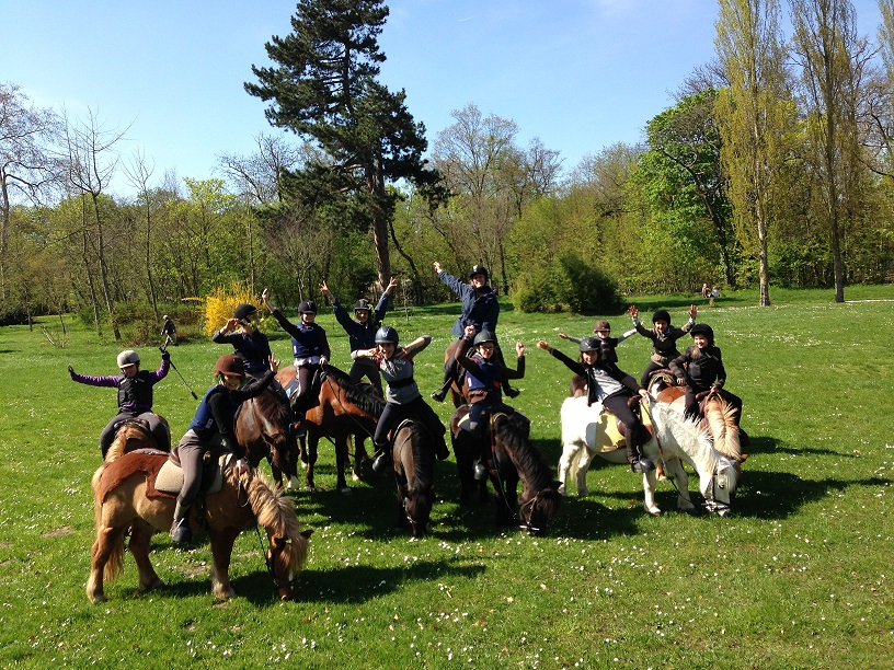 Photo enfants Poney Club